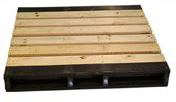 ExtruWood recycled plastic pallet 2 way entry 12x1m