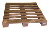 ExtruWood recycled plastic pallet 4 way entry 12x12m