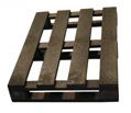 ExtruWood recycled plastic pallet 4 way entry 1x600mm