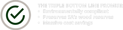 ExtruWood recycled plastic promise icon 1